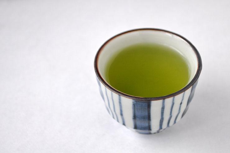 湯呑に入れた河越茶