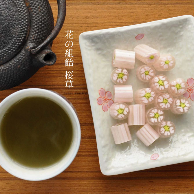 花の組飴 桜草