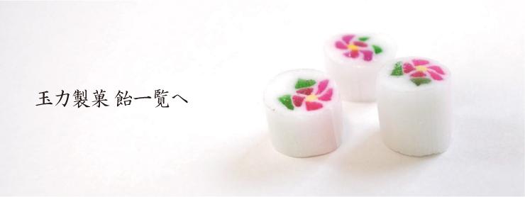 玉力製菓 飴一覧へ